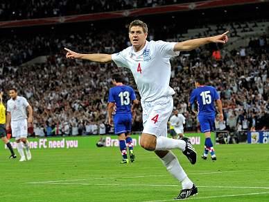 Gerrard falha despedida inglesa