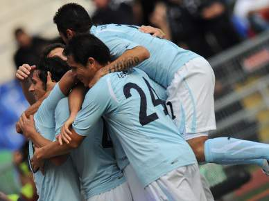 Lazio marca quatro a Eduardo e já vê a Champions