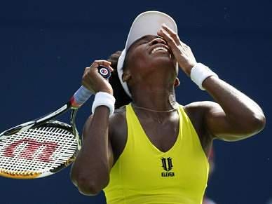 Venus Williams afastada por lesão