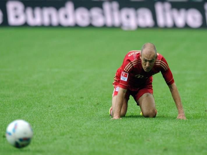 Bayern Munique entra a perder