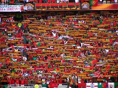 Portugal parou para ver a Selecção