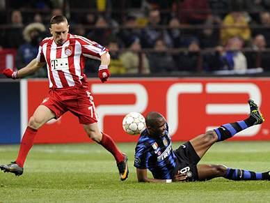 Inter e Bayern, confronto de titãs
