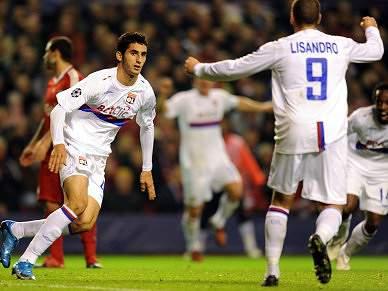 Liverpool perde em casa frente ao Lyon