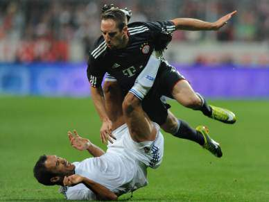 Real vence Bayern no Arena