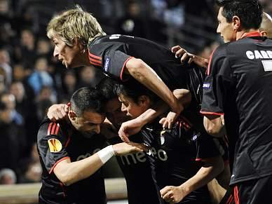 Benfica iguala 2º melhor registo goleador na Europa