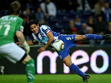 Falcao ausente no treino do FC Porto