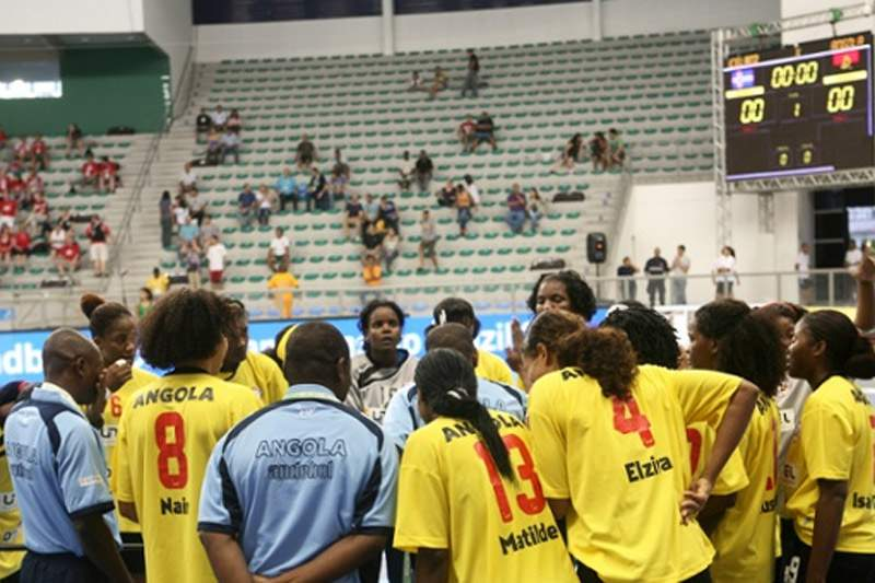 Angola nos grupos B dos Campeonatos Africanos