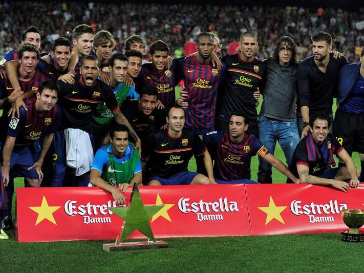 Barcelona multado por incidentes no jogo com o FC Porto