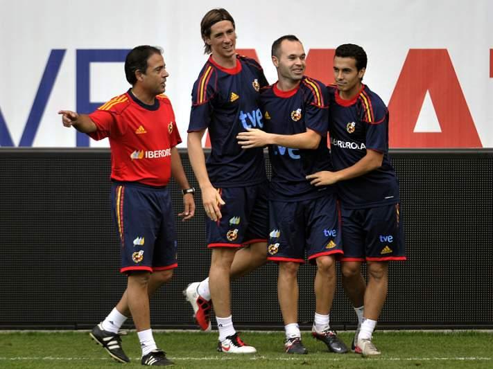 Espanha em mais um teste frente ao Chile
