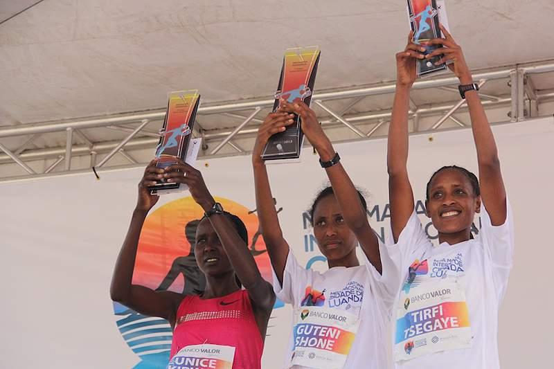 Quenianos e etíopes dominam Meia Maratona de Luanda