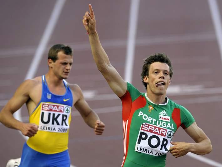 Portugal eliminado nos 4x100 metros