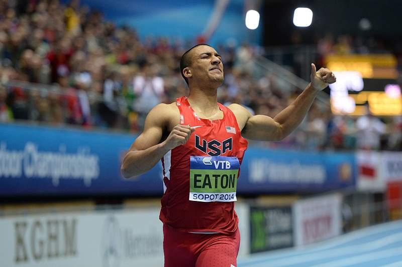 Ashton Eaton ameaçou recorde mundial do heptatlo