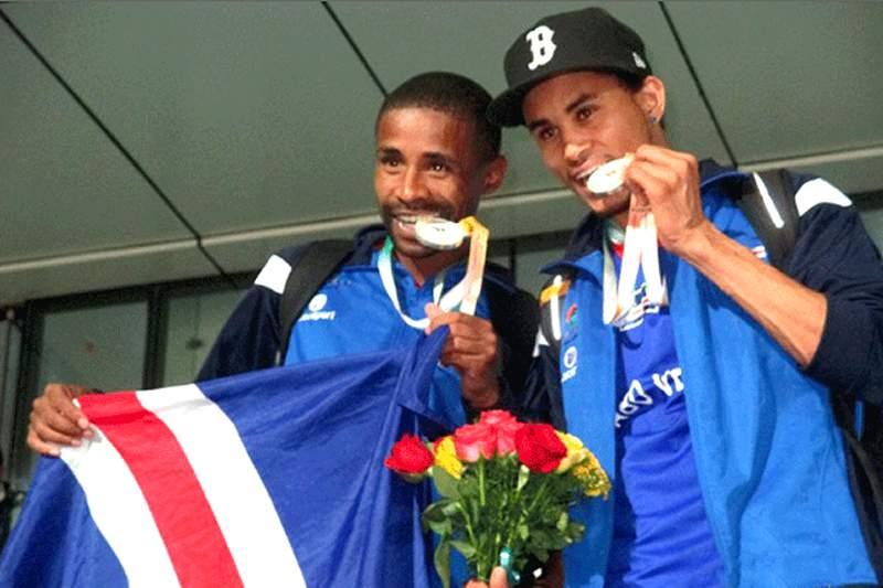 Cabo Verde arrecadou mais três medalhas de prata