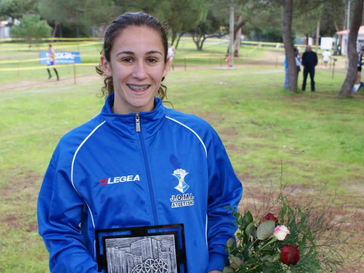 Carla Salomé Rocha foi sexta na prova de 10.000 metros