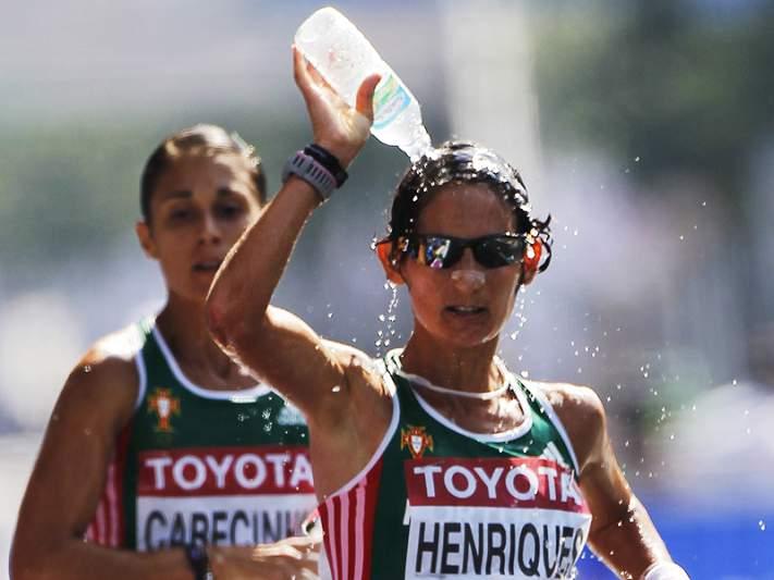 Inês Henriques conquista 10º lugar nos 20 km marcha