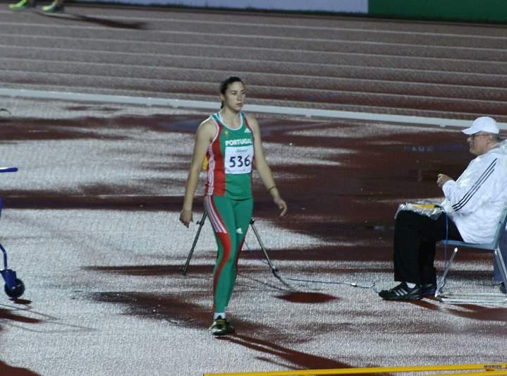 Irina Rodrigues despede-se no 33.º lugar