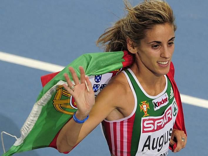 Jessica Augusto sétima nos 5.000 metros