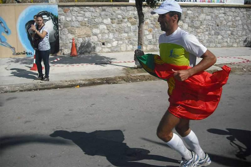 João Oliveira vence ultramaratona da Grécia