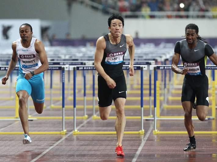 Liu Xiang iguala recorde dos 110 metros barreiras, mas com vento irregular