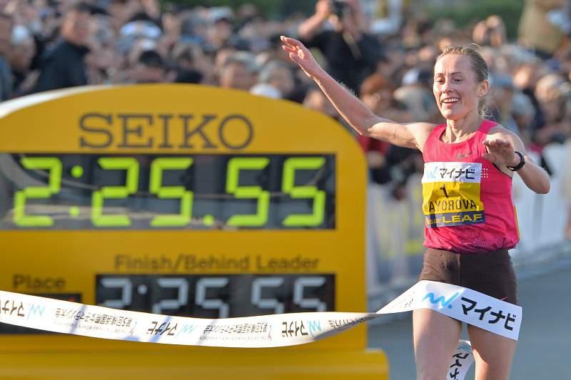 Russa Mayorova vence maratona feminina de Yokohama