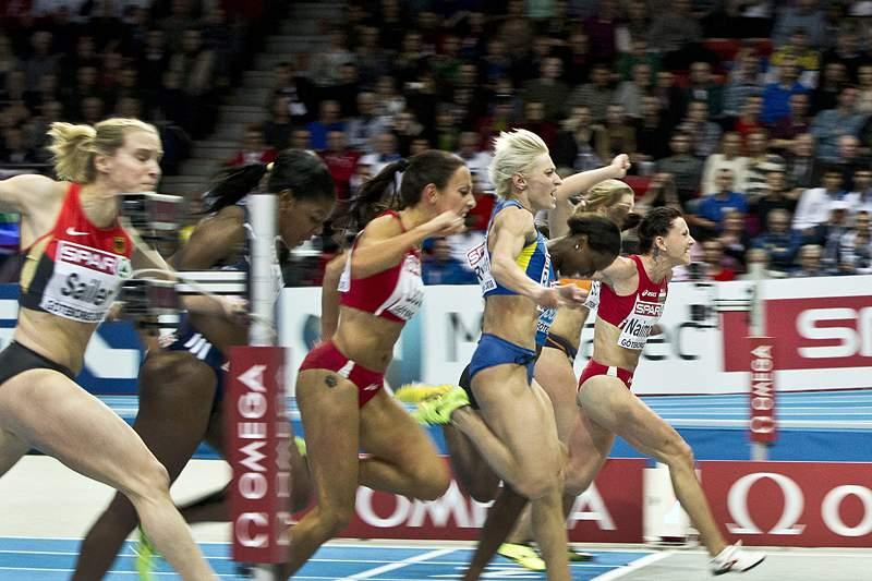 Campeã europeia dos 60 m irradiada da modalidade por doping