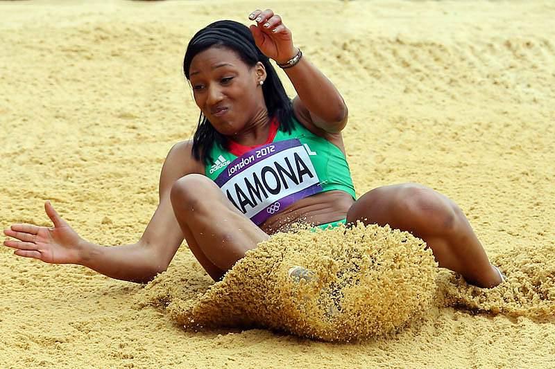 Patrícia Mamona foi sexta no triplo salto