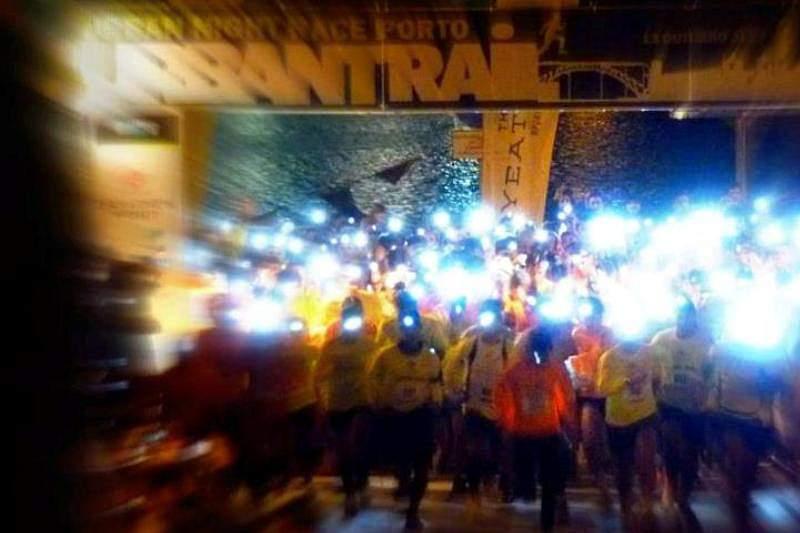 Oito mil corredores iluminaram centros históricos de Porto e Gaia