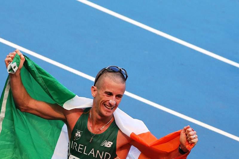 Irlandês Robert Heffernan brilha nos 50kms marcha