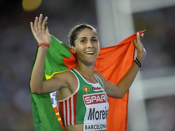 Sara Moreira conquista prata nos 5.000 metros