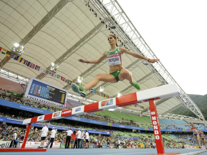 Sara Moreira 12.ª na final dos 3.000 m obstáculos
