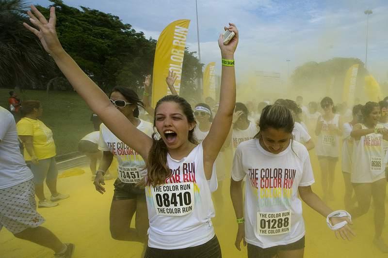 Organização prevê ter 12 mil pessoas na Color Run de Coimbra