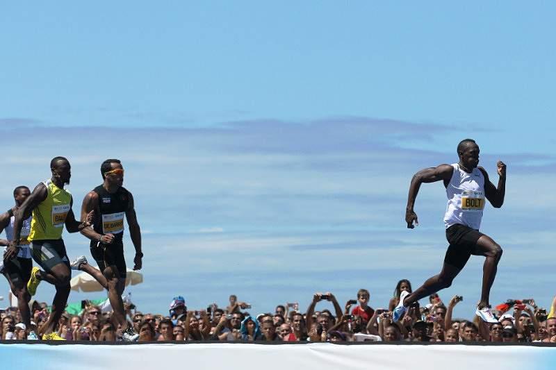 Bolt foi igual a si próprio em Copacabana