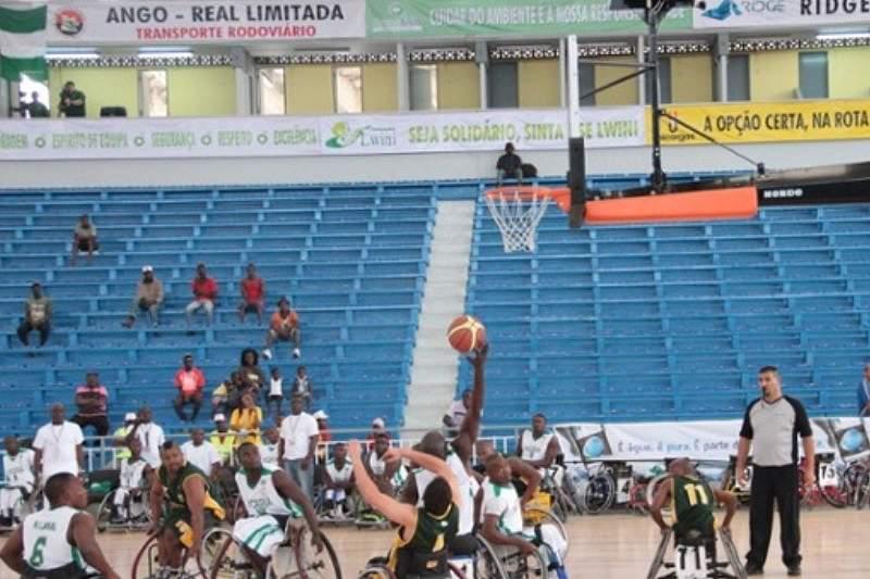 África do Sul perto da revalidação do Afrobasket adaptado