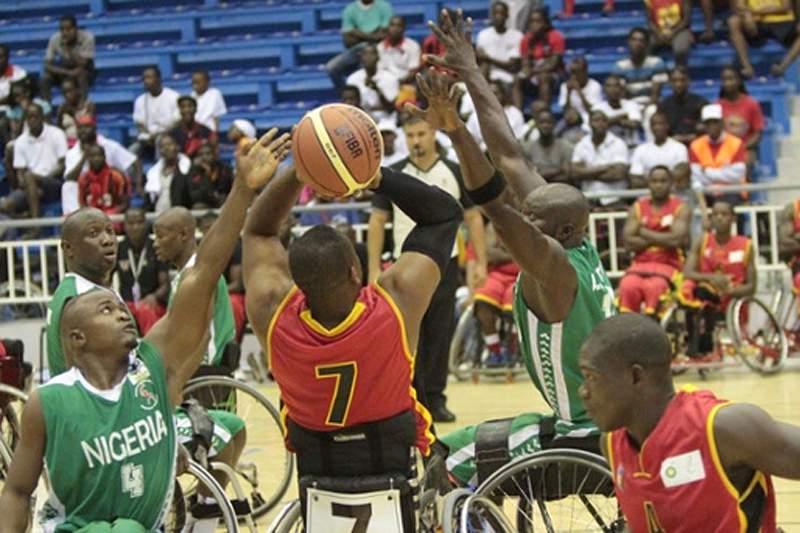 Angola volta a perder no Afrobasket em cadeira de rodas
