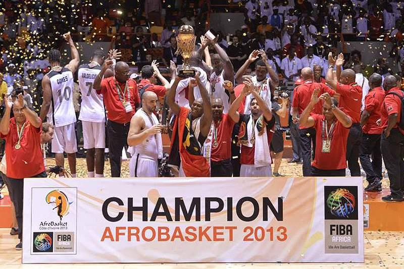 Angola vence Egito e é campeã africana de basquetebol