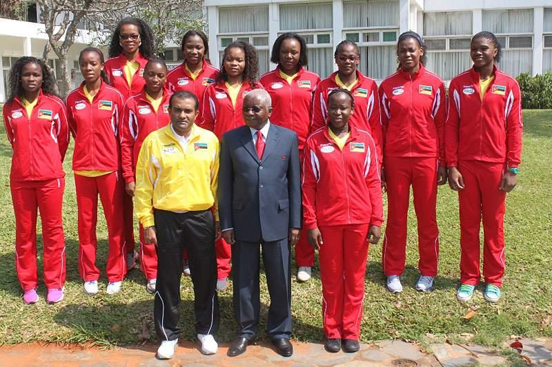 Moçambique confirma presença no Mundial da Turquia