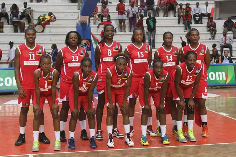 Moçambique na final do Afrobasket feminino