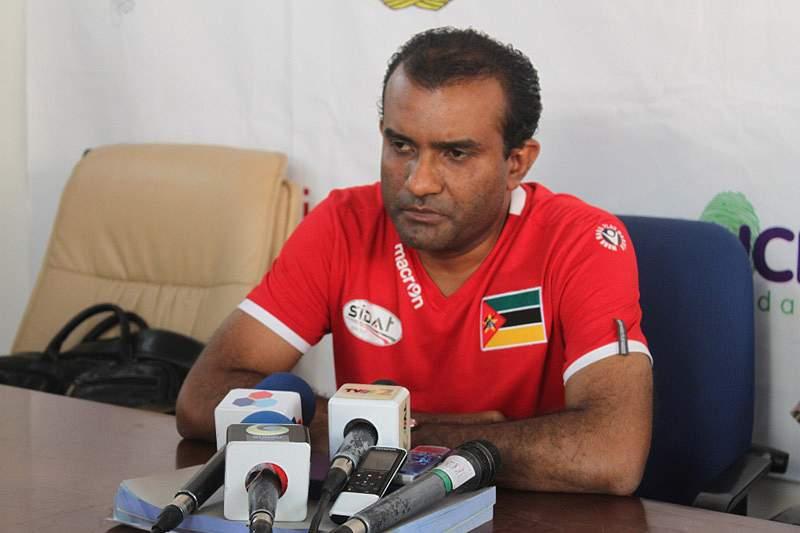 Selecionador moçambicano motivado para lutar pelo título