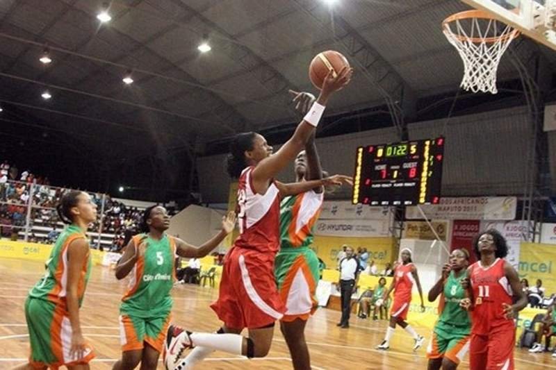 Angola no Grupo dos EUA no Mundial Feminino