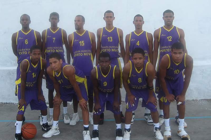 Equipa do Porto Novo Basket