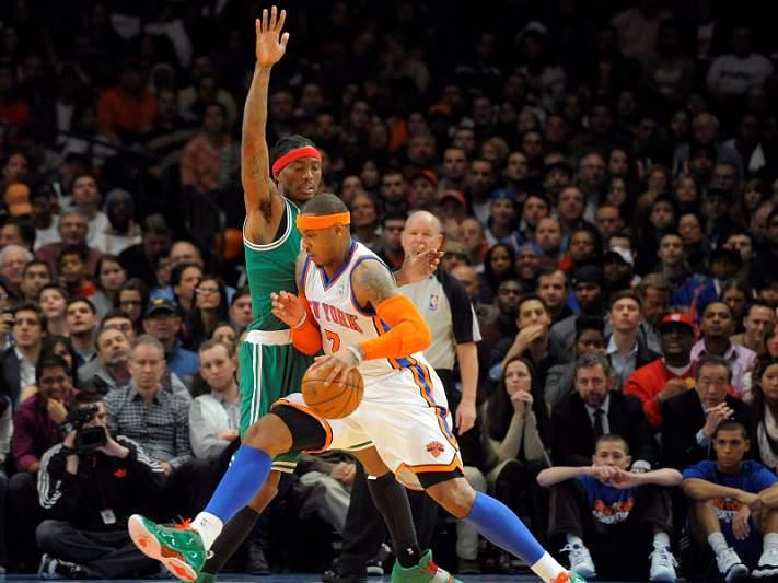 Knicks batem Celtic em jogo de grande emoção