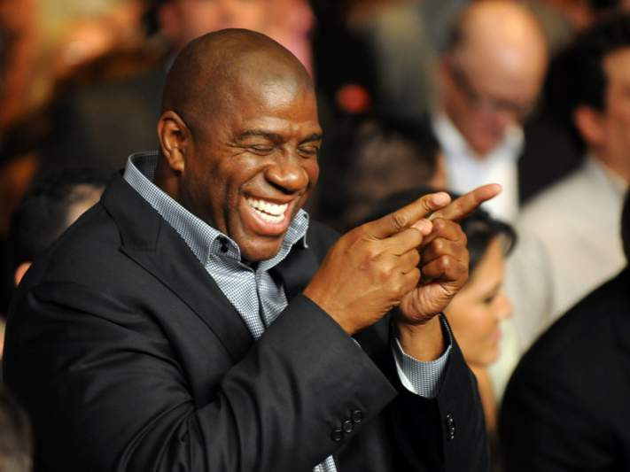 Magic Johnson aposta no basebol