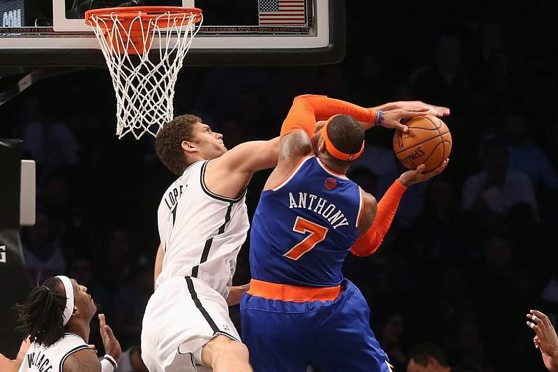 """Carmelo Anthony quer """"continuar"""" nos Knicks"""