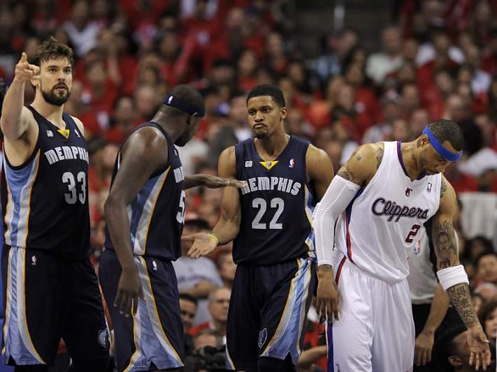 """Grizzlies obrigam Clippers à """"negra"""""""