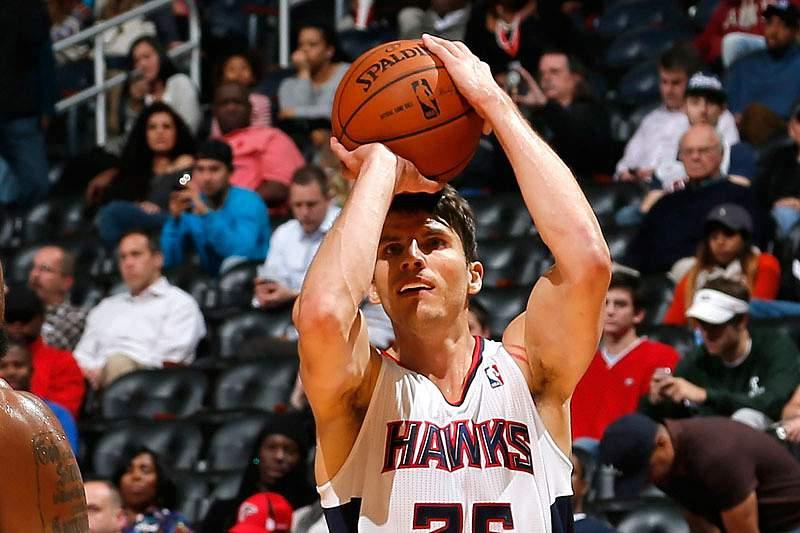 Jogador dos Atlanta Hawks faz história