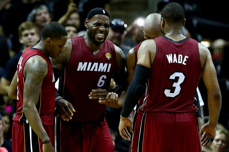 Miami Heat e LeBron