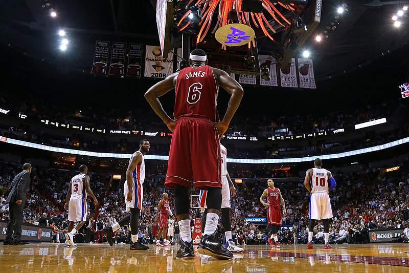 Detroit Pistons interrompem série de vitórias dos Miami Heat