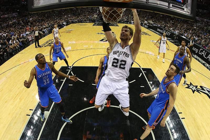 Spurs silenciam Thunder no Texas