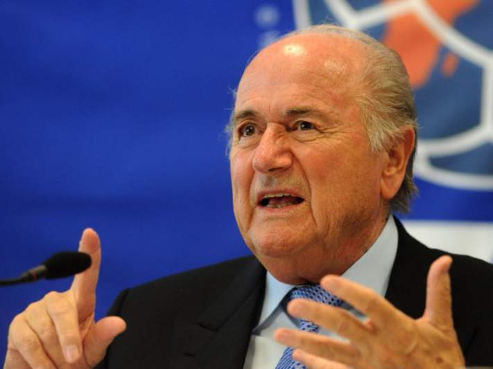 Blatter pediu à presidente brasileira para acelerar obras