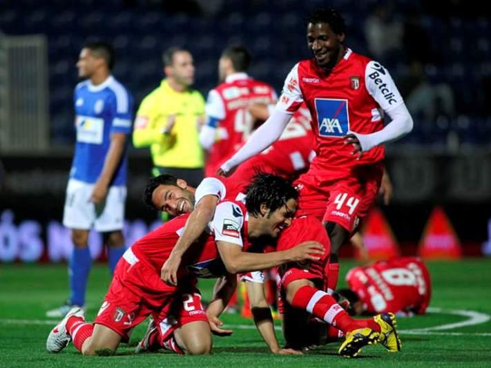 Braga disputa playoff com a Udinese